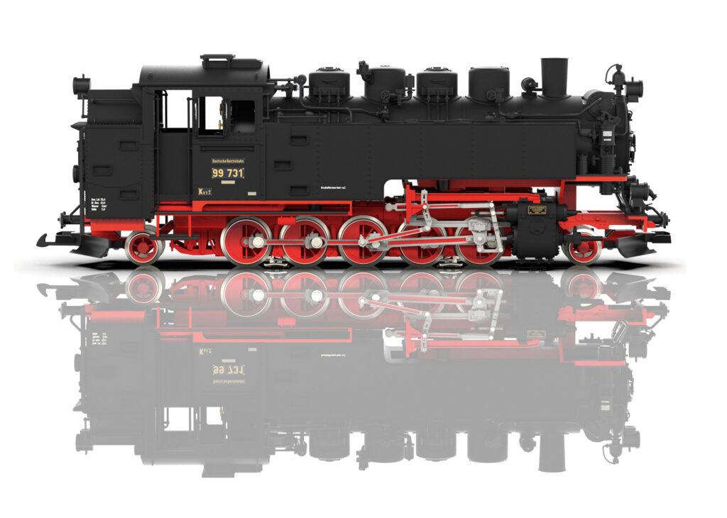 Erwartete Sommerneuheit: die als sächsische VII K bekannte Baureihe 99.73-76. Foto: LGB